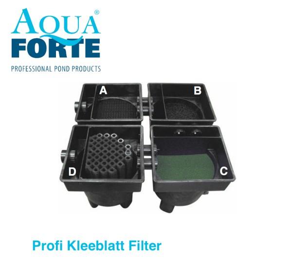 AquaForte Profi Kleeblatt Filter