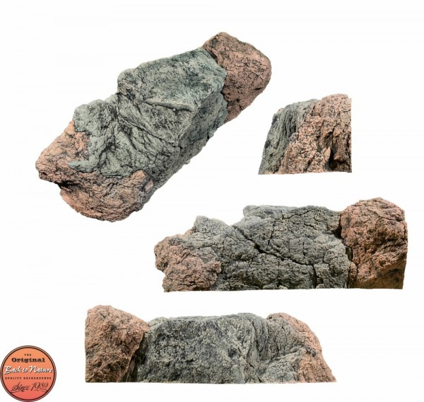 Back to Nature Aquarium Modul Basalt/Gneiss B, 78x25x29cm