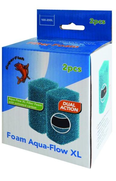 Superfish Aqua-Flow XL Schwamm 2Stk