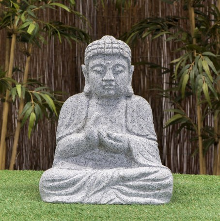 "Granitstein ""Buddha II"" groß"