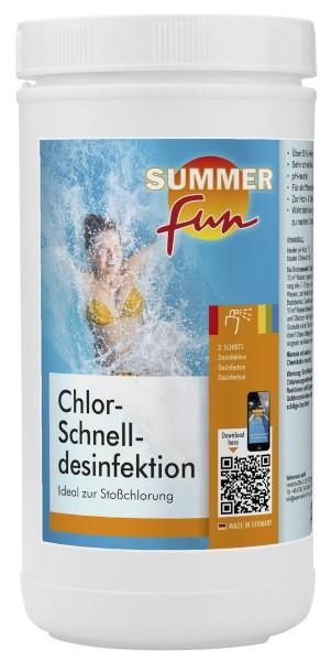Summer Fun Chlor - Schnelldesinfektion 1,2 kg