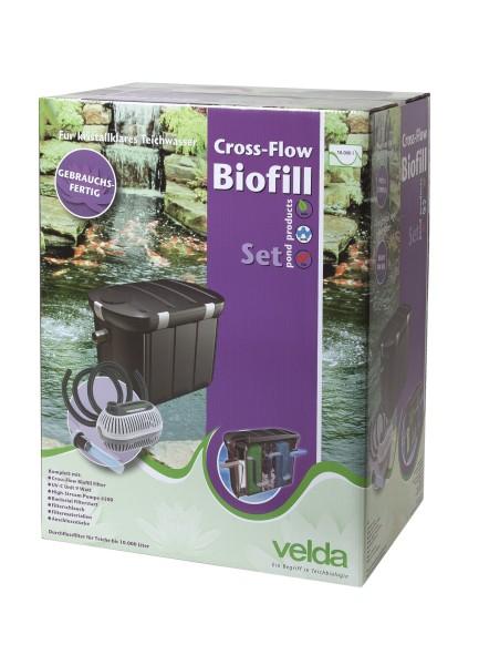 Velda Cross-Flow Teichfilter +UVC 9W+Pumpe /10 m³