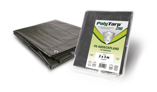 Prime Cover 650 g/m² PVC Plane grün + blau + weiß + grau in verschiedenen Grössen