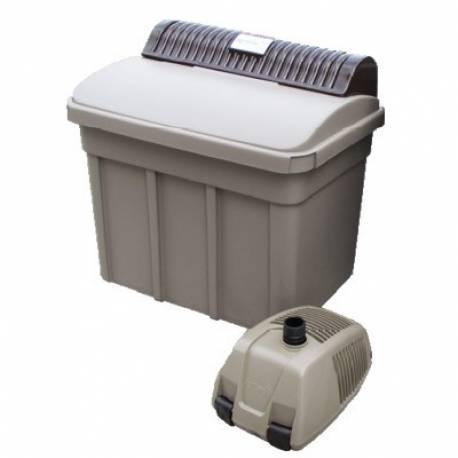 Agriline Teichfilterset 7500 mit UVC und Pumpe für Teiche bis 7500 L