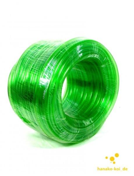 Aquariumschlauch Pondlife Luftschlauch grün, 50 Meter Rolle - 9/12mm Durchmesser
