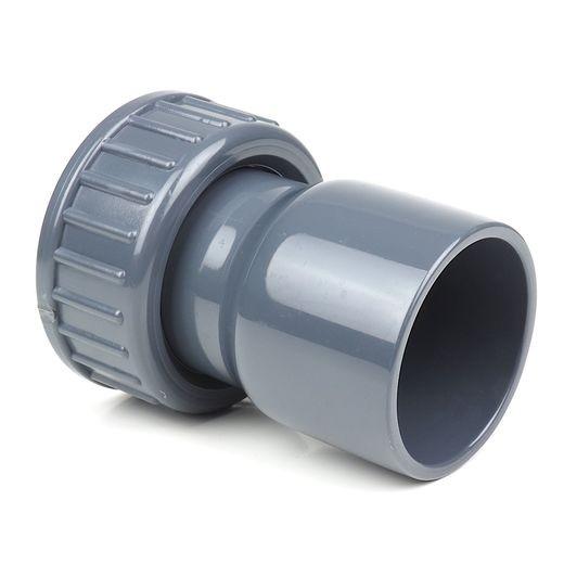 """Pumpenanschluß 50 mm Klebe x 1 1/2"""" Schraubverbindung"""