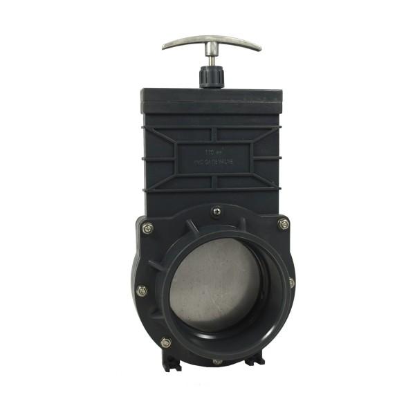 Xclear Zugschieber PVC 110 mm ECO - Absperrschieber Koi Teich