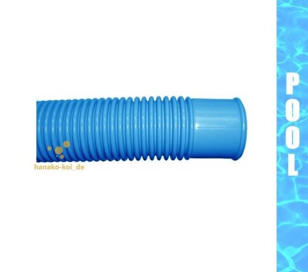 Poolflex - Schlauch (Ø 32 mm / 50 Meter / blau)