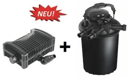 Green Reset Filerset mit Eko Power Pumpe