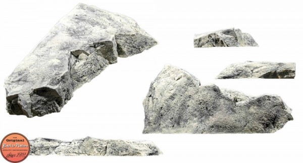 Back to Nature Aquarium Modul White Limestone G, 80x38x11cm