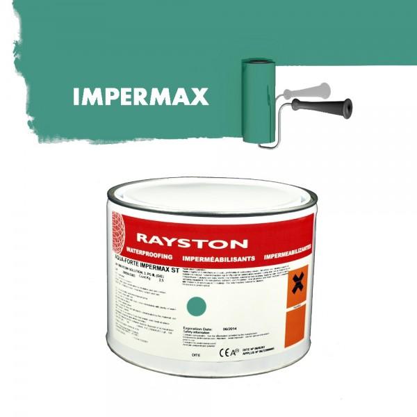 Impermax ST flüssige Teichfolie 10 kg Blau Koi-Teichbau Folie flüssig