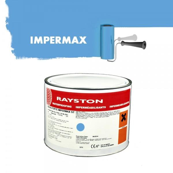 Impermax hochwertige flüssige Teichfolie - blau - 2,5 kg