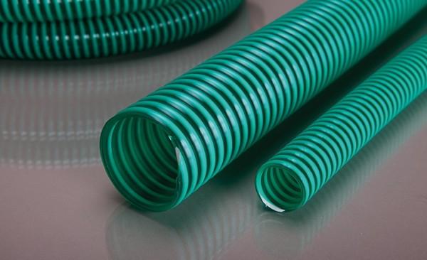 Pondlife 2 Edelstahlschlauchschellen mit 15m Saugschlauch und Druckschlauch PVC Spiralschlauch PN 7