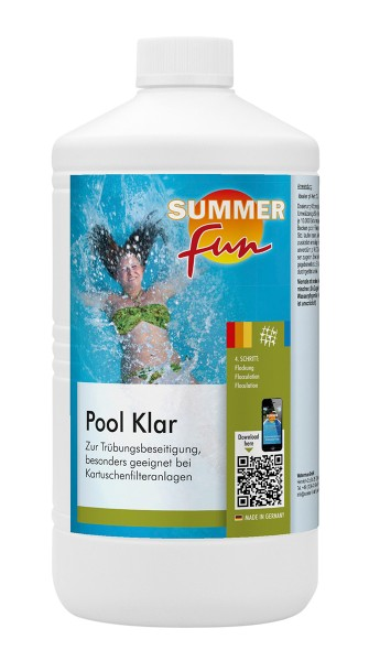 Summer Fun Pool Klar 1l