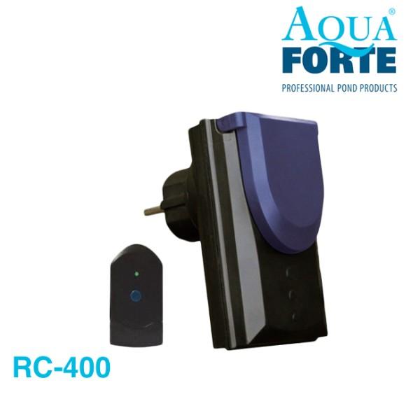 AquaForte RC-400 Universelle Fernbedienung mit Steckdose
