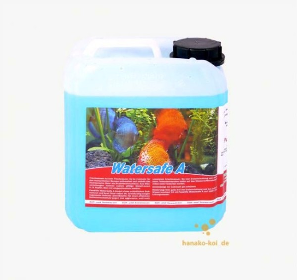 Pondlife Watersafe A - Wasseraufbereiter für Aquarien - 5 Liter für 25.000 Ltr. Aquarienwasser
