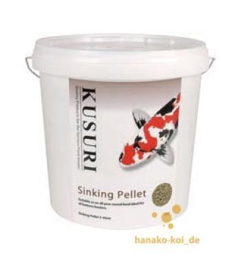 Kusuri Sinking Pellet Futter 5 kg (Ø 3-4mm) auch für Stör