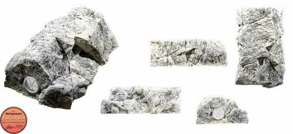Back to Nature Aquarium Modul White Limestone C (Filtermodul ), 48x30x17cm