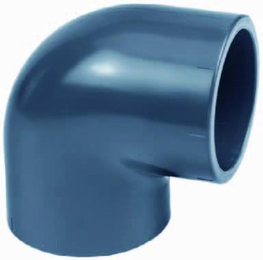 PVC-Winkel 90° Ø 75