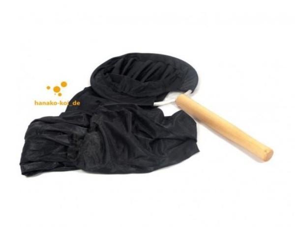 Koi Umsetzschlauch Ø 24 cm, 90 cm Länge mit Holzgriff