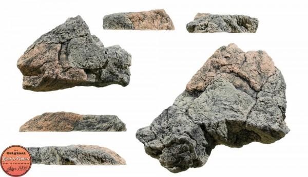 Back to Nature Aquarium Modul Basalt/Gneiss L, 50x45x11cm