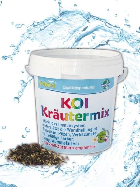 Weitz-Wasserwelt KOI KRÄUTERMIX für Koi und Teichfische 150g f. 15.000 l
