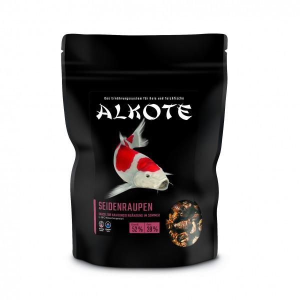 Alkote Seidenraupen-Puppen für Koi (300 g) optimal für Farbe u. Wachstum