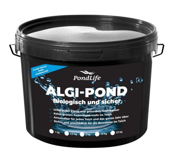 Pondlife ALGI-POND - 100% biologische Alternative zum Fadenalgenvernichter gegen Algenwachstum