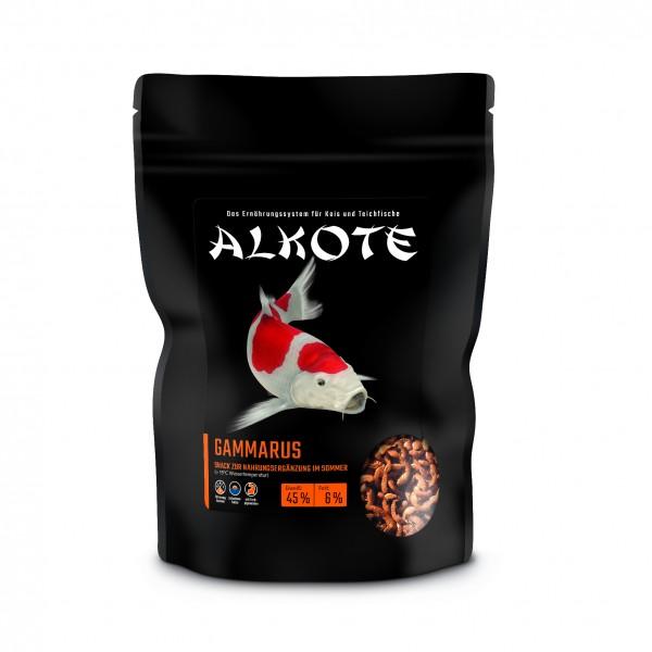 Alkote Gammarus-Bachflohkrebse (125 g) für Teich, Aquarium u. Schildkröten