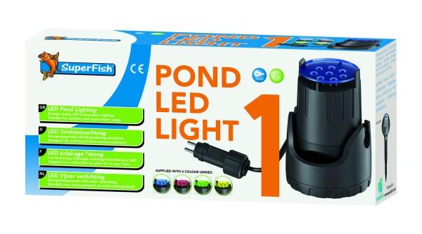Superfish Teich LED Licht 1x