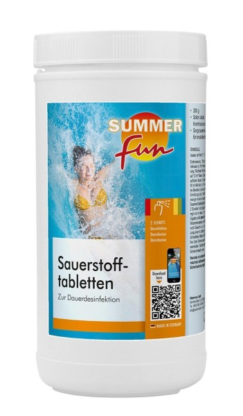 Summer Fun Sauerstofftabletten1,2 kg