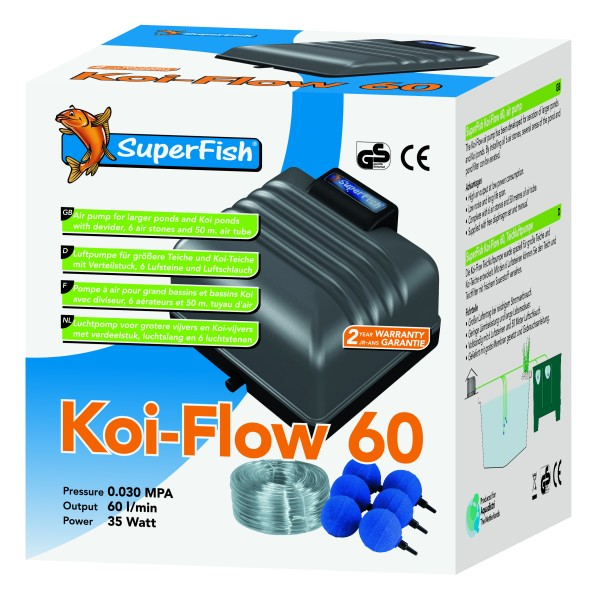 superfish-koi-flow-60-prof-beluftungsset