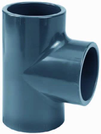 PVC-T-Stück 90° Ø 75