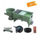 Pondlife GFK 3-Kammer-Vortex Filter bis 30.000 Liter ( KOMPLETT-SET )