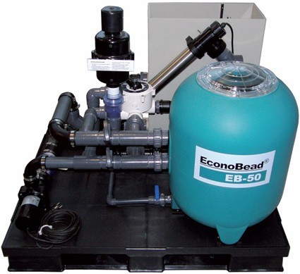 Aquaforte Econobead-Set EB-50 Komplett vormontiertes Filtersystem mit DM-Vario 22000S Pumpe