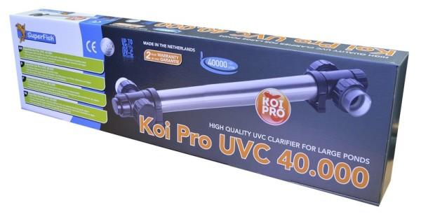 SuperFish Koi Pro Rvs UVC T5 40 Watt / 40000LTR
