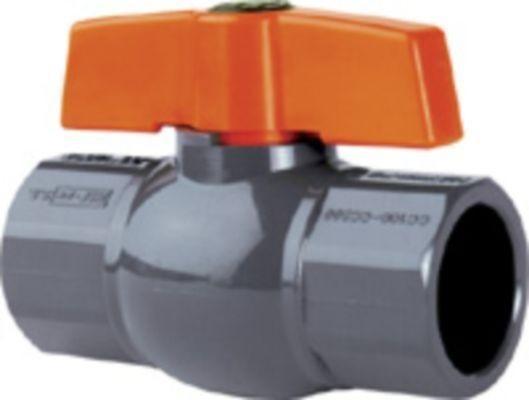 PVC - Kugelhahn 40mm ohne Überwurfmutter