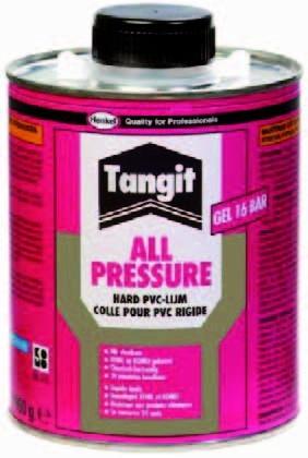 Tangit PVC Kleber (250 ml) Dose mit Pinsel