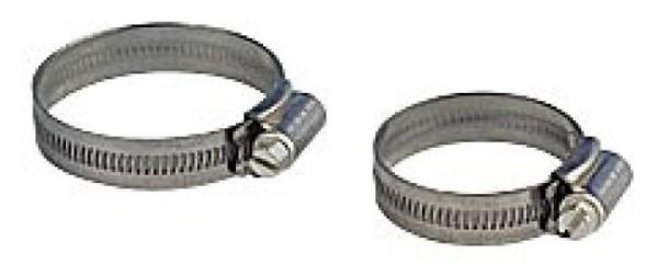Niro-Schlauchklemme d 32-55 mm