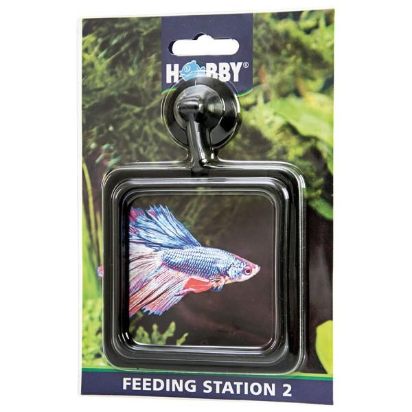 Hobby Feeding Station 2 10 x 10 cm, eckig, SB