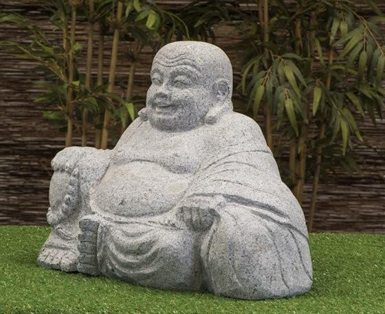 """Granitstein """"Lachender Buddha """" mittel"""