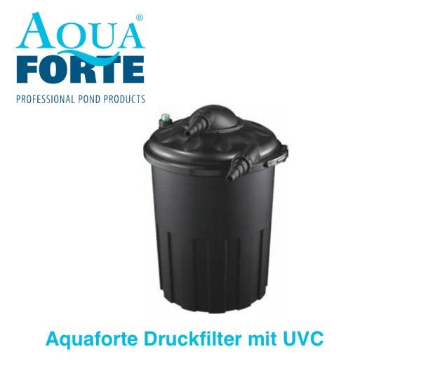 AquaForte Druckfilter mit UV-C