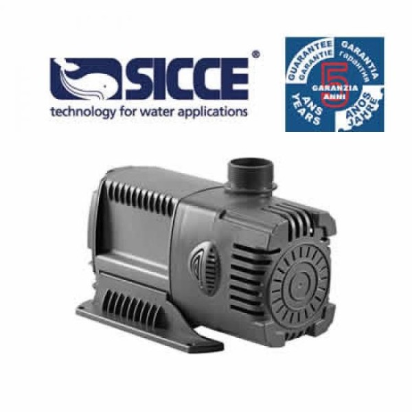 SICCE Syncra HF10.0 high flow Pumpe