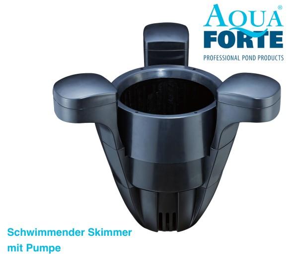 AquaForte schwimmender Skimmer mit Pumpe