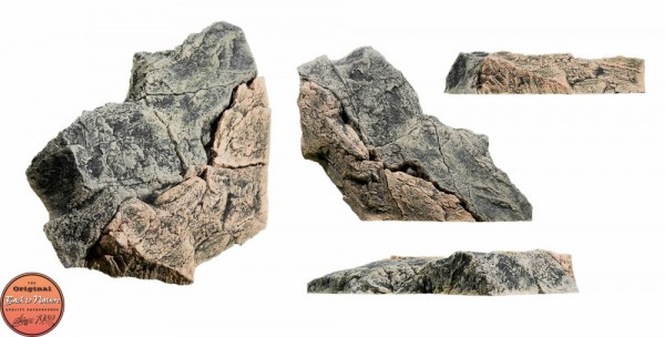 Back to Nature Aquarium Modul Basalt/Gneiss E, 60x47x11cm