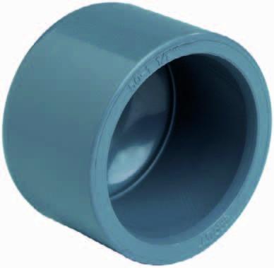 PVC-Klebekappe Ø 50 mm