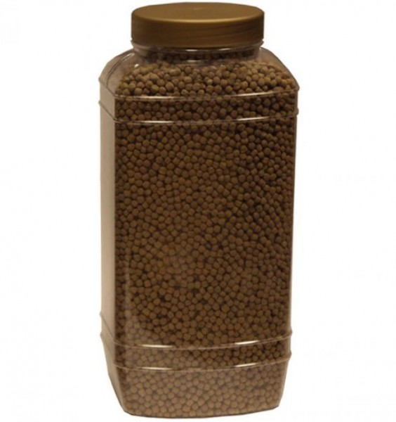 WHEATGERM SCHWIMMENDES KOIFUTTER FÜR NIEDRIGE TEMPERATUREN 5 L Behälter (±1,8 Kg) Medium Pellets 6mm