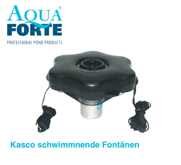 Kasco schwimmnende Fontänen