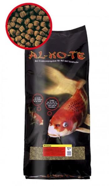 Alkote Koifutter Prime (13,5 kg / Ø 6 mm) Basiszuwachsfutter Frühjahr bis Herbst