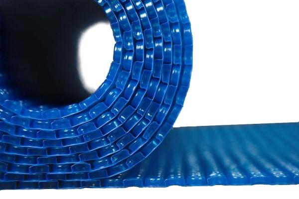 Teichabdeckung Isolierfolie Noppenfolie blau Winter Folie Anti Eis Pool Teich Isolierung 200cm breit